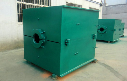 Blow mould making machine1