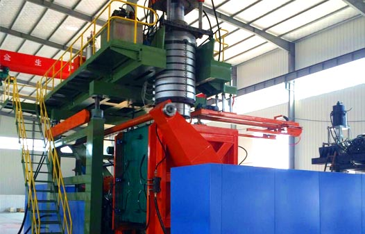 pallet blow molding machine1