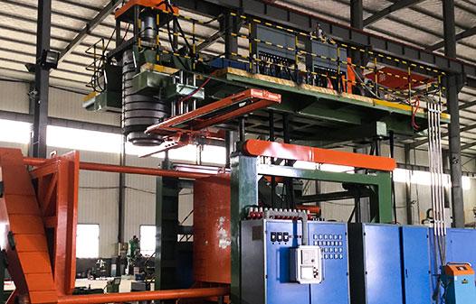5000l water tank blow molding machine1