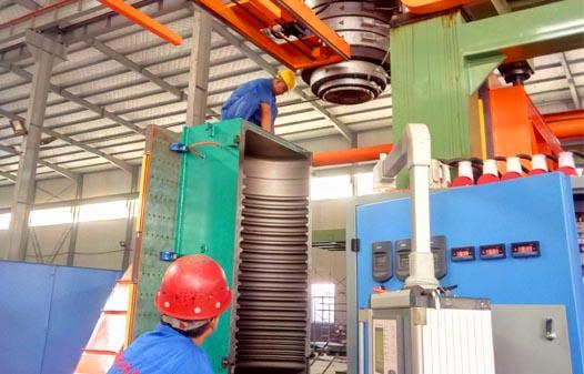 5000l water tank blow molding machine2
